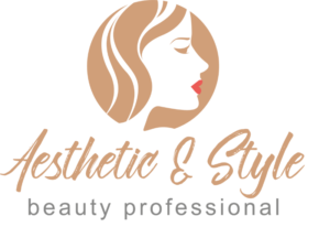 Logo Frau mit roten Lippen